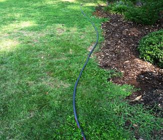 Use a Hose To Layout Beds